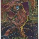 Spider-Man Fleer Masterpieces #2 Carnage Chromium Card