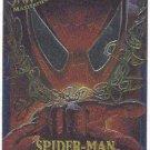 Spider-Man Fleer Masterpieces #4 Spider-Man Chromium Card