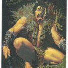 Spider-Man Fleer Golden Web #4 Kraven Chromium Card