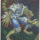 Spider-Man Fleer Golden Web #5 Lizard Chromium Card
