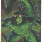 Spider-Man Fleer Golden Web #6 Scorpion Chromium Card