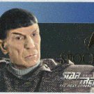 Star Trek TNG Season 5 #S29 Embossed Foil Card Spock