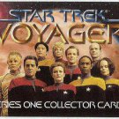 Star Trek Voyager Season 1 Series 1 #T1 Promo Trading Card