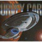 Star Trek Voyager Season 1 Series 1 Survey Card