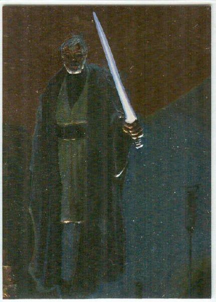 Star Wars Finest #F3 Embossed Foil Card Obi-Wan Kenobi