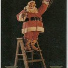Coca Cola Series 3 #S25 Santa Foil Card 1965