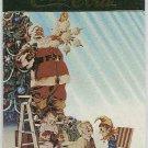 Coca Cola Series 4 #S36 Santa Foil Card Christmas Tree