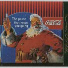Coca Cola Series 4 #S37 Santa Foil Card Christmas Tree