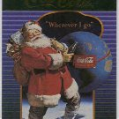 Coca Cola Series 4 #S39 Santa Foil Card Christmas Tree