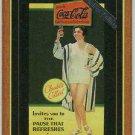 Coca Cola Series 4 Hollywood Foil #H-4 Claudette Colbert