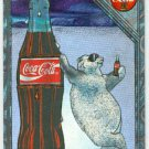 Coca Cola Premium #SPB-1 Engraved Foil Polar Bear Card