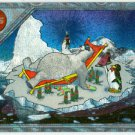 Coca Cola Super Premium #SPB-8 Engraved Foil Polar Bear Card