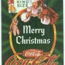 Coca Cola Super Premium #3 Embossed Chase Card Santa