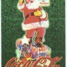 Coca Cola Super Premium #4 Embossed Chase Card Santa