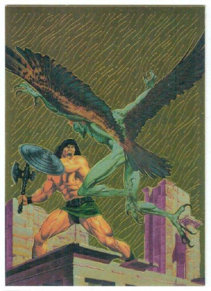 Conan Series 1 Chromium Promo Unnumbered Trading Card
