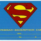 DC Bloodlines 1993 Superman Redemption Card #S5