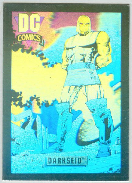 DC Cosmic Inaugural #DCH2 Hologram Chase Card Darkseid