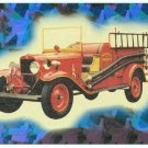 Fire Engines Series 2 #8 Prism Card Philomath Oregon
