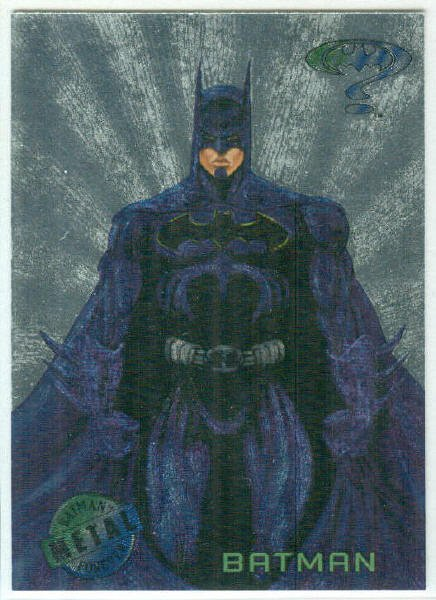 Batman Forever #1 Silver Flasher Parallel Card