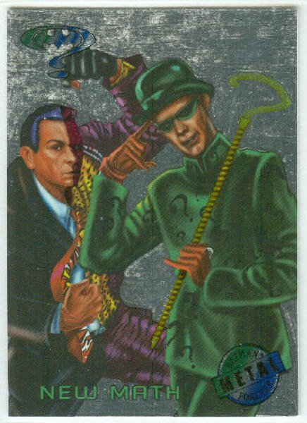 Batman Forever #19 Silver Flasher Parallel Card