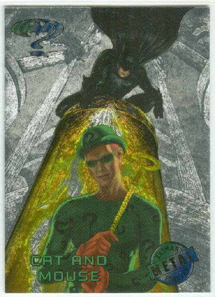 Batman Forever #21 Silver Flasher Parallel Card
