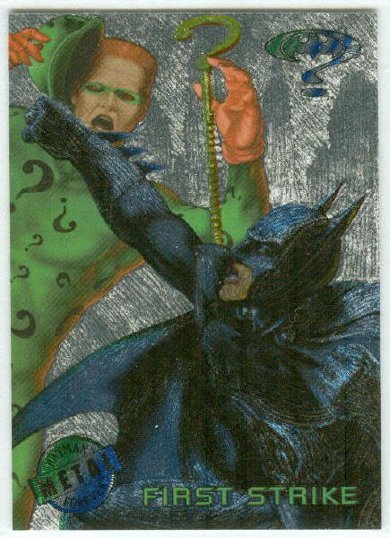 Batman Forever #23 Silver Flasher Parallel Card