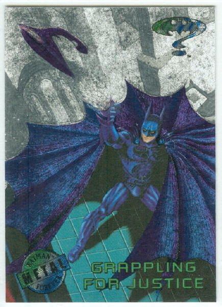 Batman Forever #40 Silver Flasher Parallel Card