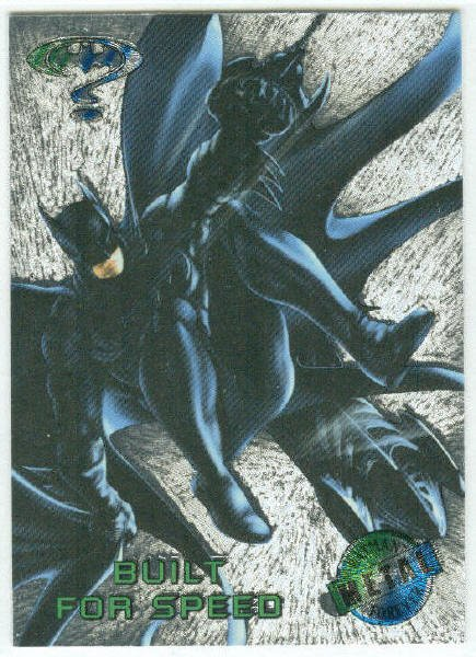 Batman Forever #41 Silver Flasher Parallel Card