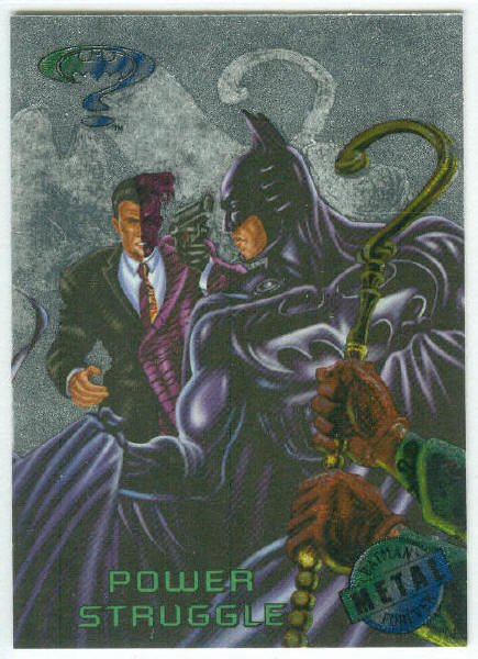 Batman Forever #49 Silver Flasher Parallel Card