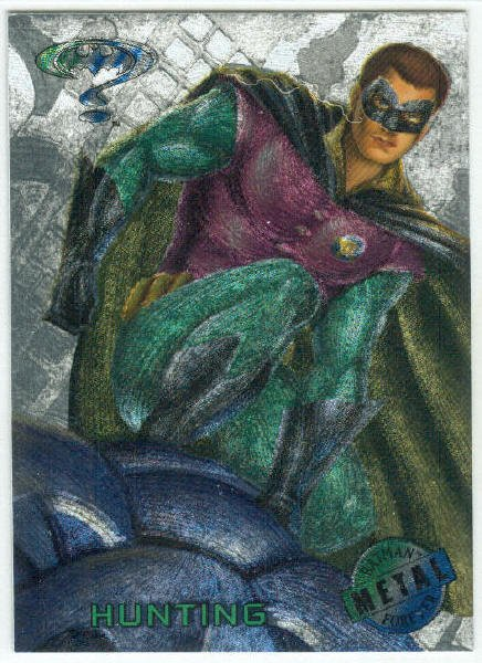 Batman Forever #69 Silver Flasher Parallel Card