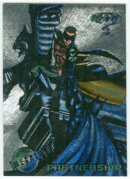 Batman Forever #76 Silver Flasher Parallel Card