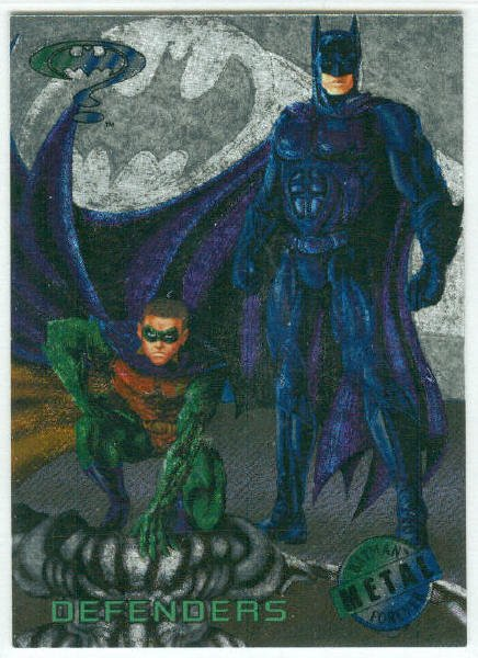 Batman Forever #95 Silver Flasher Parallel Card