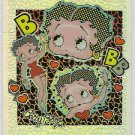 Betty Boop Pin-Ups #21 Chromium Sticker Parallel Card