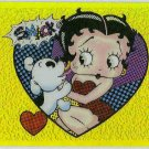 Betty Boop Pin-Ups #22 Chromium Sticker Parallel Card
