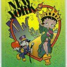 Betty Boop Pin-Ups #29 Chromium Sticker Parallel Card