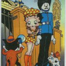 Betty Boop Pin-Ups #35 Chromium Sticker Parallel Card