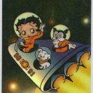 Betty Boop Pin-Ups #41 Chromium Sticker Parallel Card