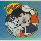Betty Boop Pin-Ups #44 Chromium Sticker Parallel Card