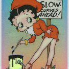 Betty Boop Pin-Ups #46 Chromium Sticker Parallel Card
