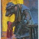 Keith Parkinson #MS3 Metallic Storm Card Rat Bag Lady