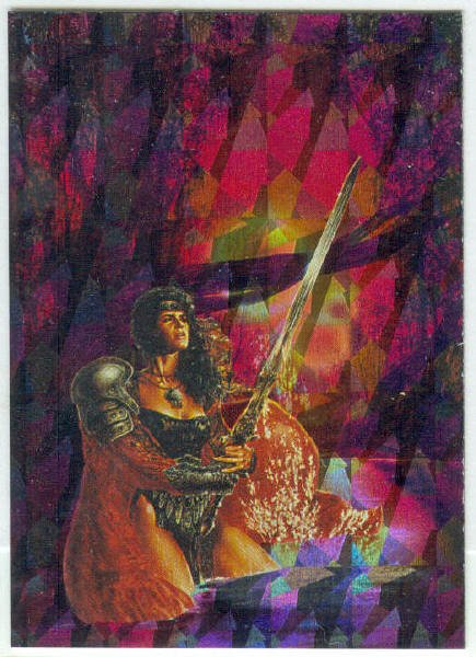 Luis Royo Series 1 #P5 Prism Chase Card Seven Of Swords