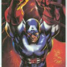 Marvel Annual 94 Flair #11 Powerblast Card Capt America
