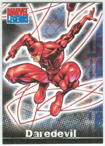 Marvel Legends #P3 Daredevil Promo Trading Card