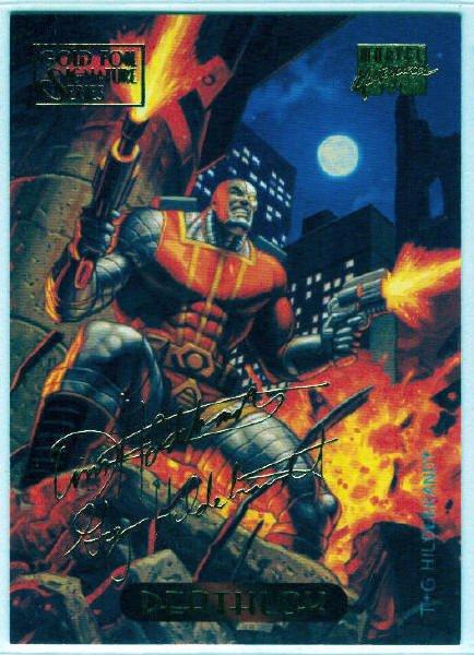 Marvel Masterpieces 1994 #29 Gold Foil Signature Card
