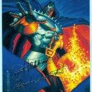 Marvel Masterpieces 1994 #33 Gold Foil Signature Card