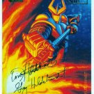 Marvel Masterpieces 1994 #35 Gold Foil Signature Card