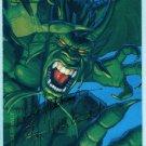 Marvel Masterpieces 1994 #37 Gold Foil Signature Card