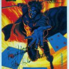 Marvel Masterpieces 1994 #41 Gold Foil Signature Card