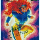 Marvel Masterpieces 1994 #45 Gold Foil Signature Card