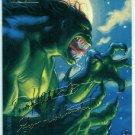 Marvel Masterpieces 1994 #51 Gold Foil Signature Card